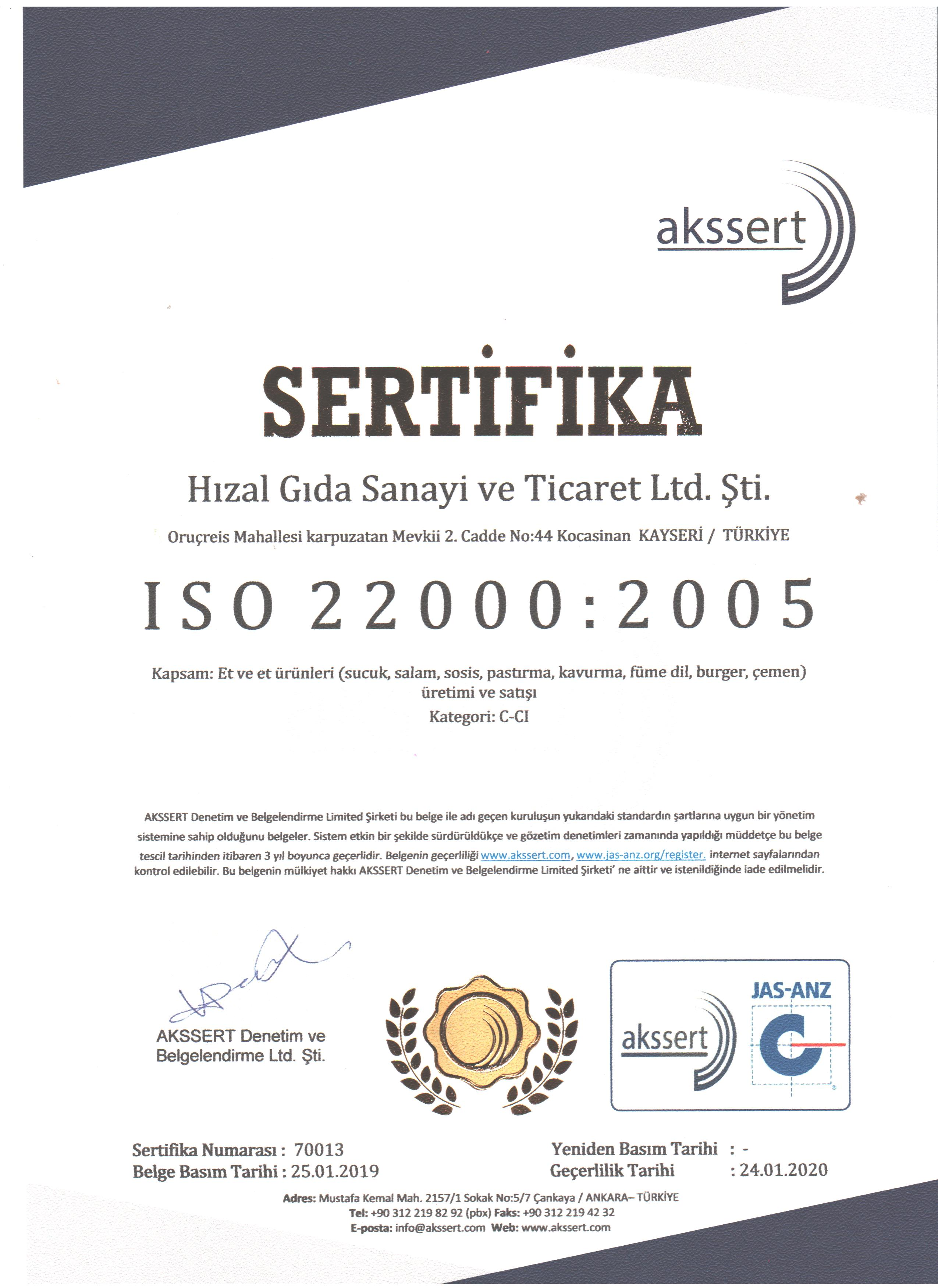 ISO 22000 001
