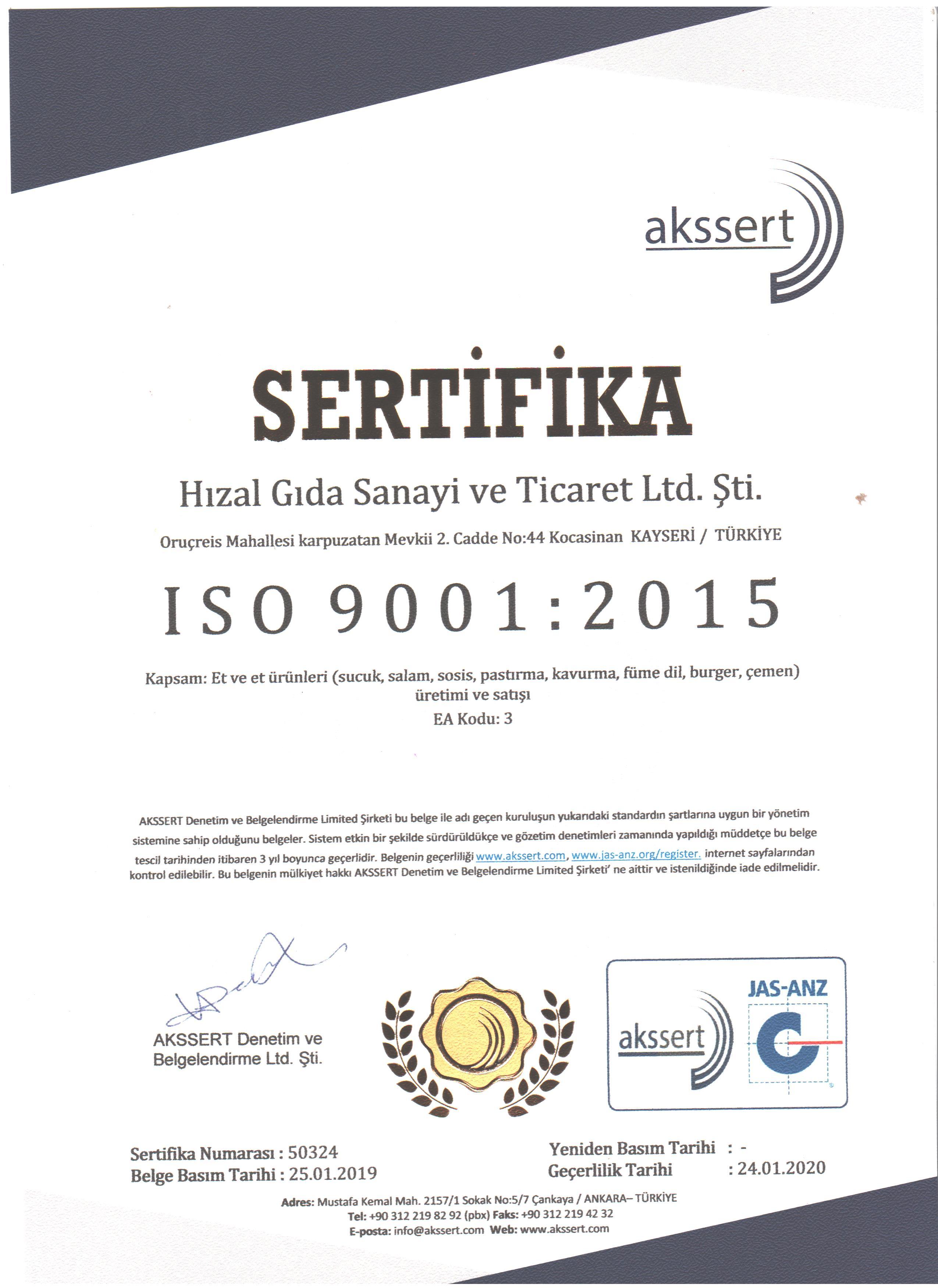 ISO 9001 TÜRKÇE 001